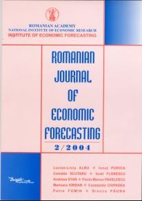 Romanian Journal of Economic Forecasting